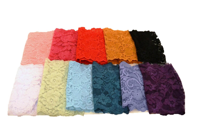 Lace headbands wide lace headbands elastic headbands by primlace