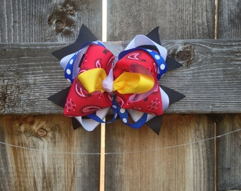 """Jessie inspired """"Toy Story"""" Hair Bow"""