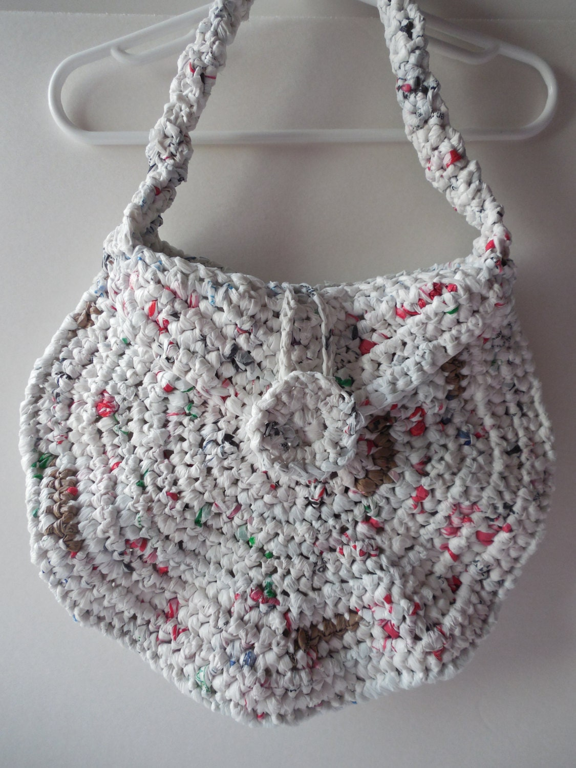 Crochet Purse Handmade Crochet Shoulder by ShelleysCrochetOle