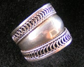 Sterling Silver Band Ring, unmarked, size 7