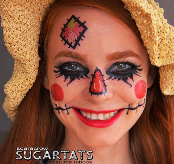 Unavailable listing on etsy for Halloween makeup tattoos