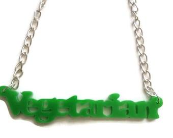 Vegetarian Necklace