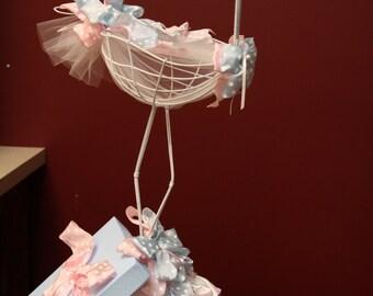 """12"""" Mini Wire Stork"""