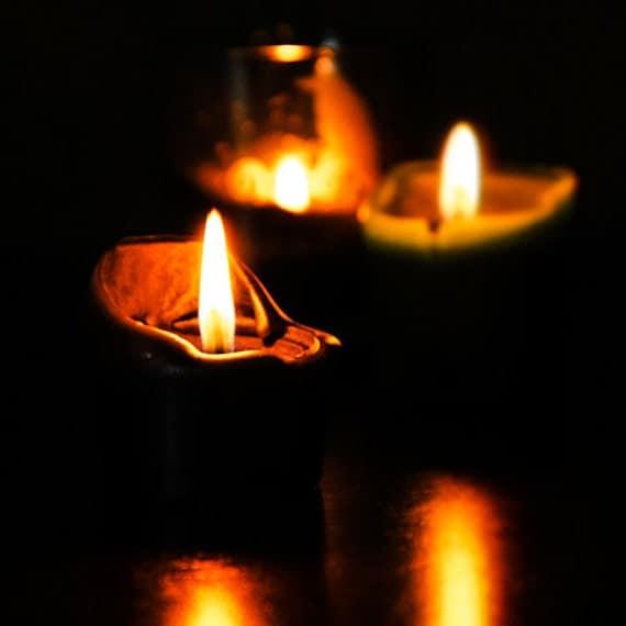 Items Similar To Gothic Candles Dark Art Still Life