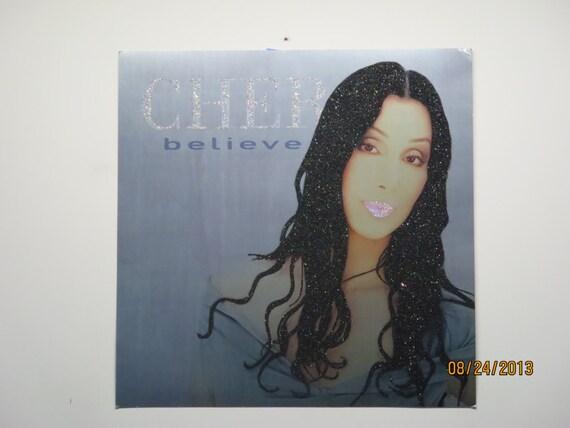 Glittered Poster - Cher - Believe