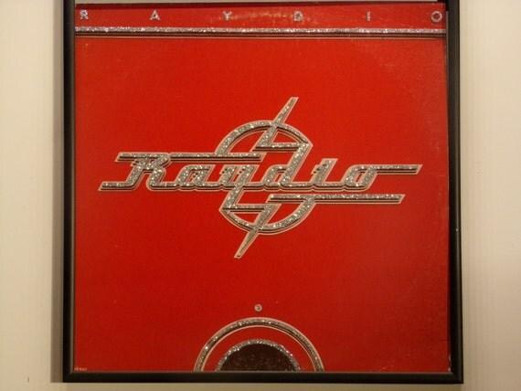 Glittered Record Album - Raydio