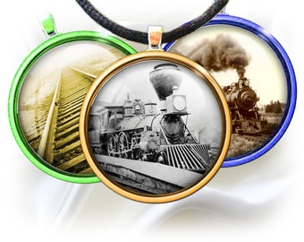 Trains and Railroads-1 inch rounds graphics for scrapbooking, Digital Printable 15 Bottle Cap Images File 4x6, BUY 2 GET 1 FREE