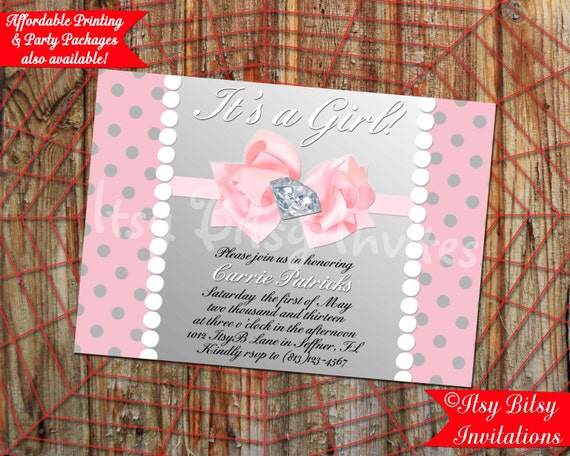 diamonds and pearls baby shower decorations lil 39 diva baby shower