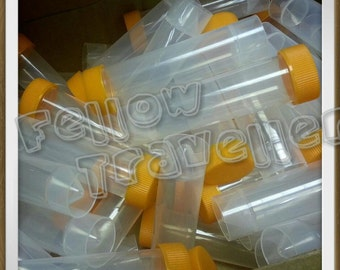 Needles Container / case / storage tubes - store up to 100 felting needles - Ready to Ship