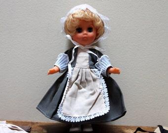 Vintage 8 inch Sleep Eye Toddler Doll