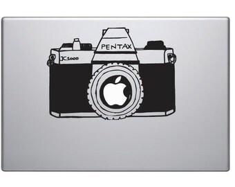 Vintage Camera Mac Decal