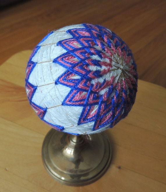 Items Similar To Christmas Ornaments, Japanese Art, Tamari