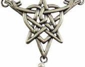 Celtic Heart & Pentagram necklace