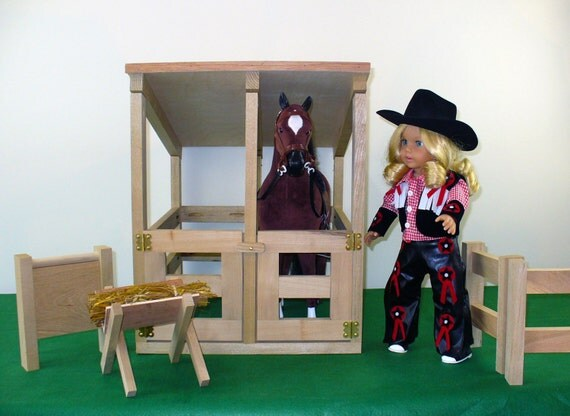 18 Inch Doll Furniture American Made Doll Furniture Horse