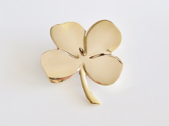 Golden Four Leaf Clover Wall Decor By Sunshinesurprises On