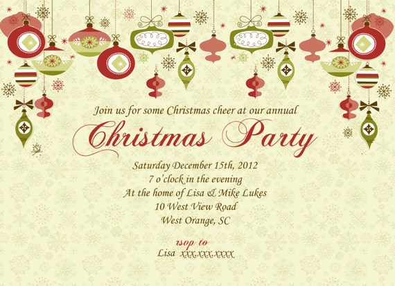 Christmas formal invitation merry christmas and happy new year 2018 the stopboris Images