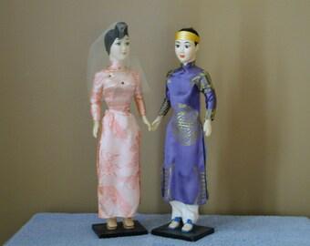 Vietnamese Wedding Dolls