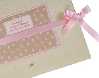Guestbook for wedding or christening