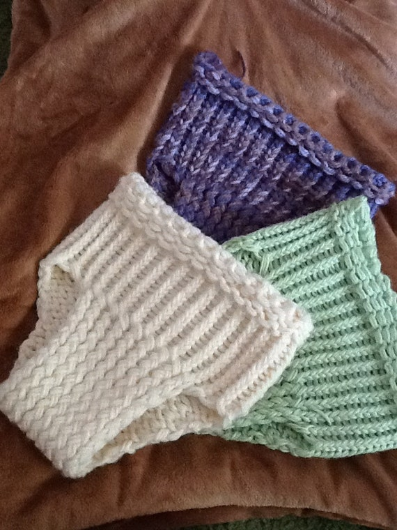 Items similar to Handmade Loom Knitted Baby Diaper Cover or Bloomer on Etsy