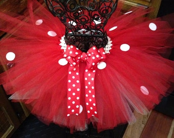Minnie Mouse Hat and Tutu