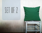 emerald pillow emerald green throw pillow cover decorative pillow natural linen cushion cover outdoor pillow case home decor accent pillow