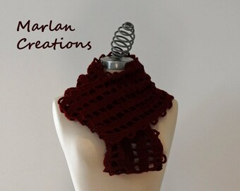 Red/Burgundy scarf