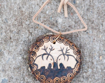 CUSTOM Woodburn ornament