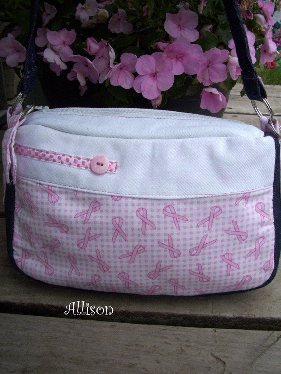 Breast Cancer Awareness Purse with Beads