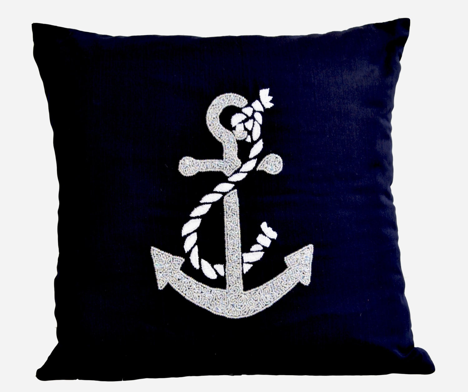 Anchor Decorative Throw Pillows Cushion Cover Nautical Ocean