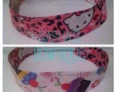 Hello Kitty  Cupcake Reversible Teen/Adult Headband