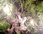 Bicycle Chain Star Ornaments