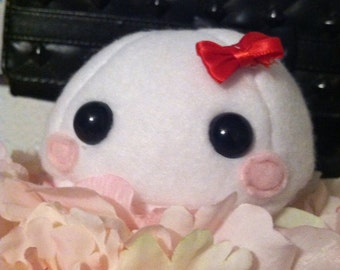 Cute Little Blushing Mochi plushie