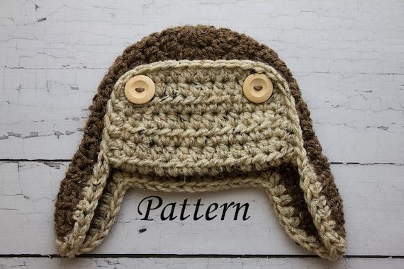 Gallery For > Crochet Aviator Hat Free Pattern