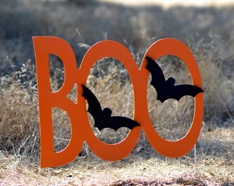 "Halloween ""Boo""  Yard Sign"