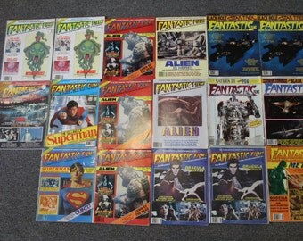 Fantastic Films Magazines - 26 Magazines Altogether from 1978-1985