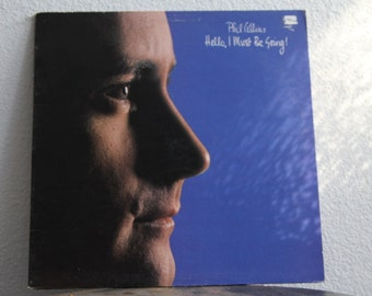 """Phil Collins - """"Hello, I Must Be Going"""" vinyl record"""