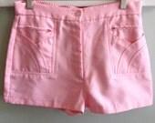Vintage Pink Shorts