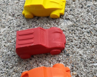 4pk. Car Crayons