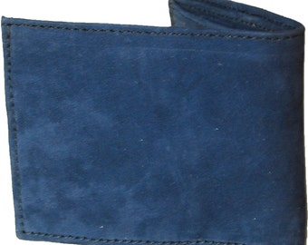 Mens Leather Wallet With Coin Pocket Etsy