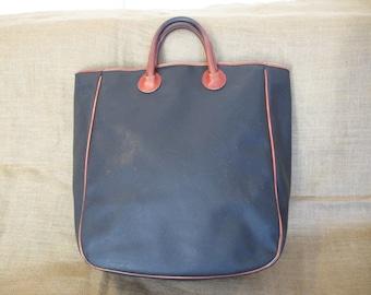 Genuine large vintage Bottega Veneta shopping tote bag