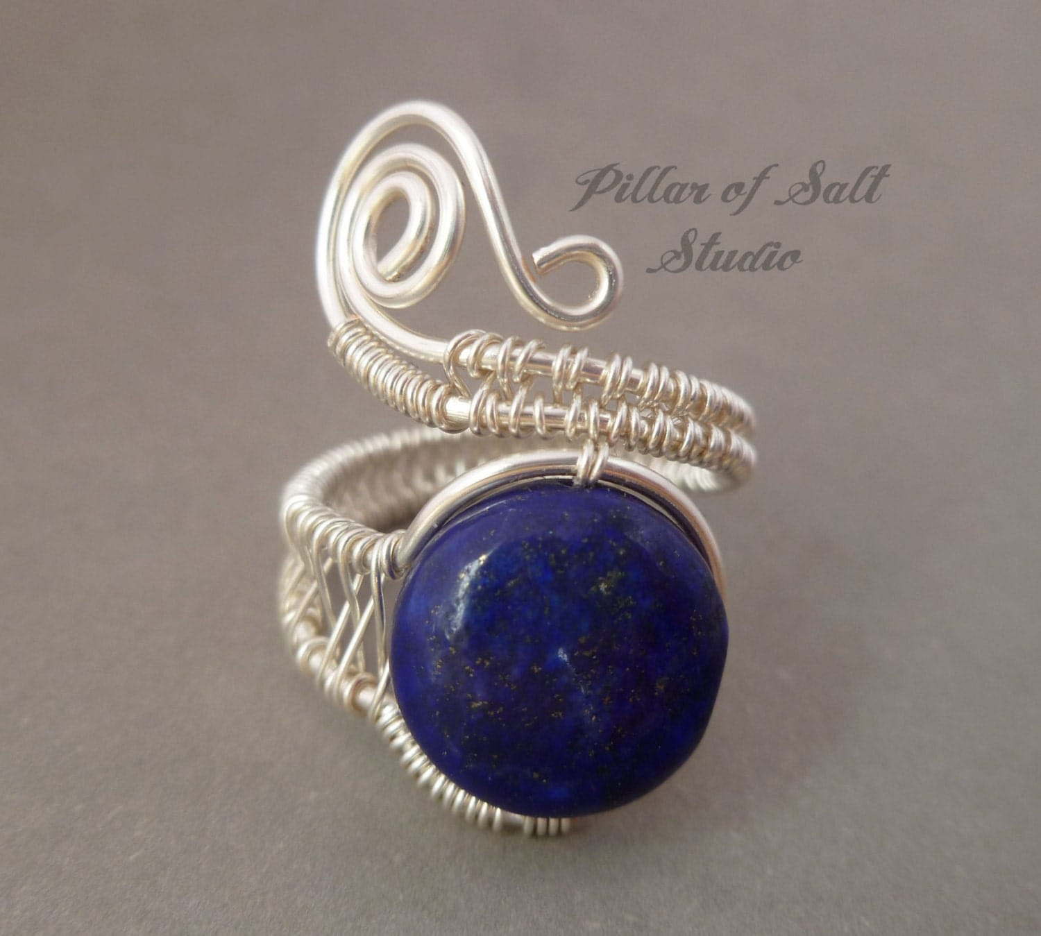 wire wrapped jewelry handmade wire wrapped ring silver