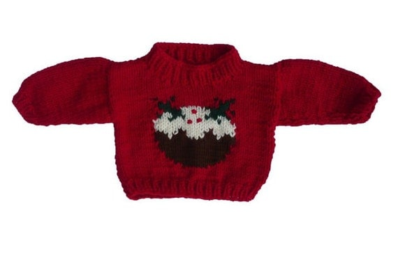 Knitting Pattern For Xmas Pudding Jumper : Unavailable Listing on Etsy