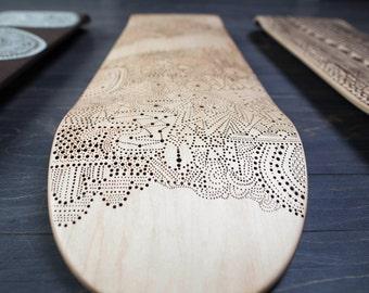 Insertion - One-of-a-Kind Hand Burned Skateboard Deck