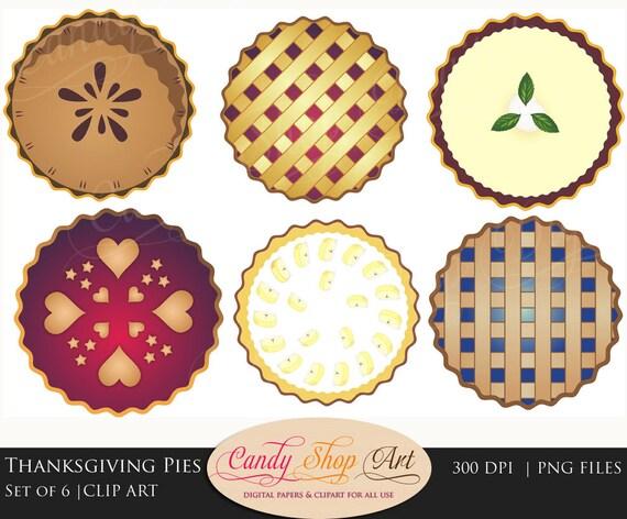 Cake Clipart Top View : Instant Download Pie Clipart Apple Pie Clipart Lattice