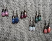 Droplet earrings