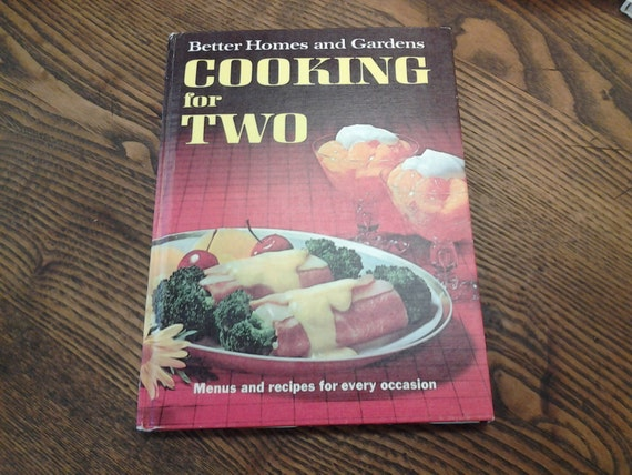 On Sale Better Homes And Gardens Cooking For Two Cookbook
