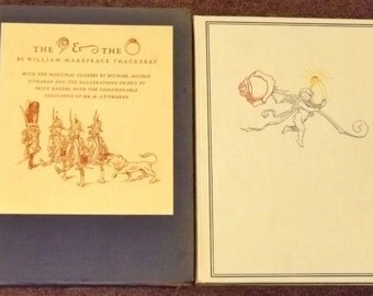 The Rose and the Ring by William Makepeace Thackeray HB in slipcase 1942 illustrated
