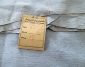 Antique Rayon Silk Crepe 38 inch Vintage 1930's Sewing Fabric 7/8 YARD FULL PIECE