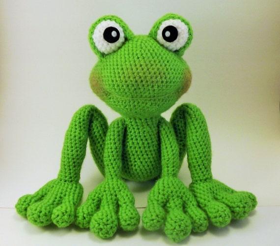 Froggy Amigurumi Pattern Frog Crochet Pattern