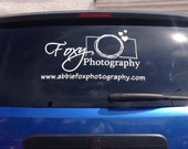 Custom color car window decal